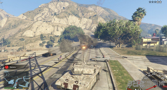侠盗猎车手5坦克MOD截图0