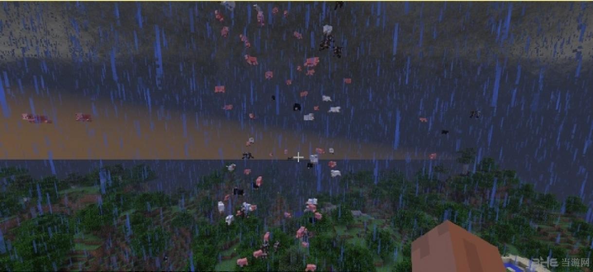 我的世界1.7.10局部天气龙卷风MOD截图3