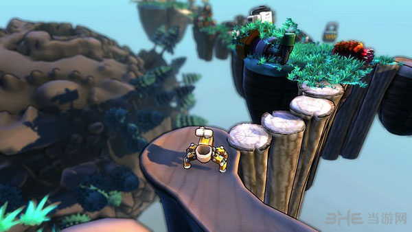 机器人组装炮塔经典PC游戏宣布明年初将来到PS4平台1