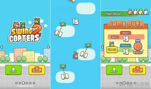 Swing Copters 2史上最自虐游戏发布2