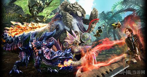 怪物猎人X配图1