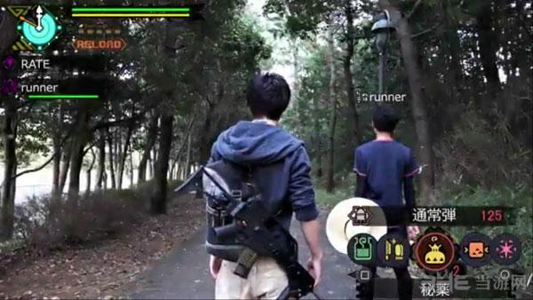 怪物猎人玩家自制真人版游戏视频1