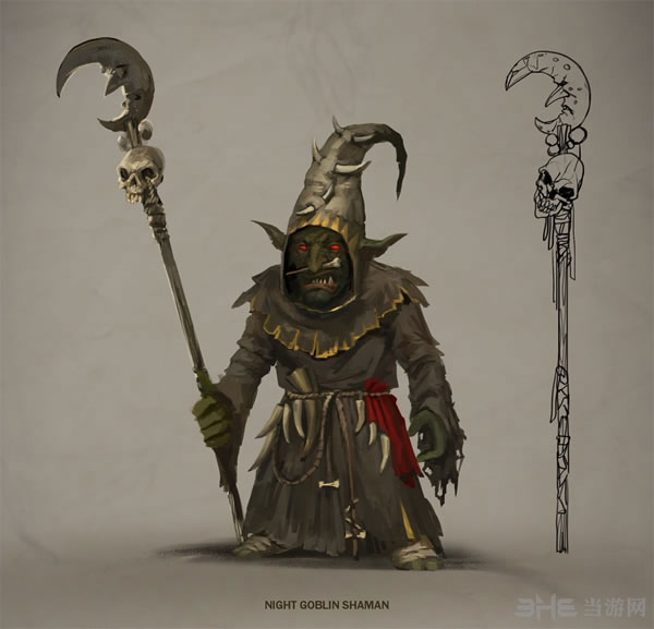 全面战争战锤兽人族角色游戏壁纸曝光1