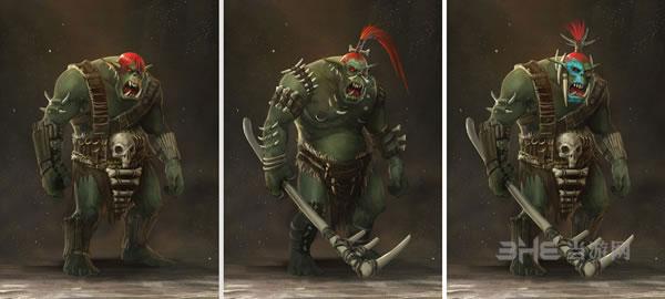 全面战争战锤兽人族角色游戏壁纸曝光2