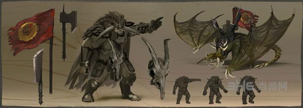 全面战争战锤兽人族角色游戏壁纸曝光3