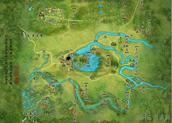 剑网三天青石矿分布图4