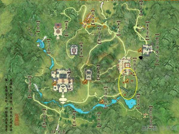 剑网三天青石矿分布图2