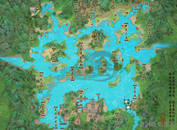 剑网三天青石矿分布图1