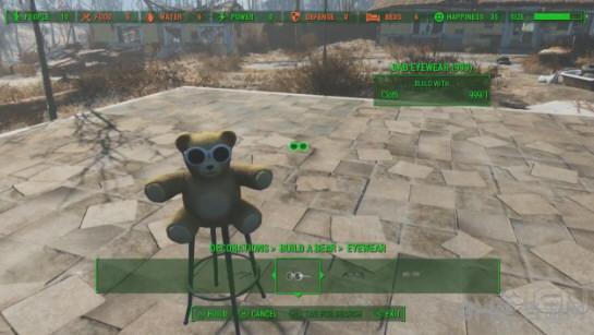 辐射4工厂系统玩具小熊4