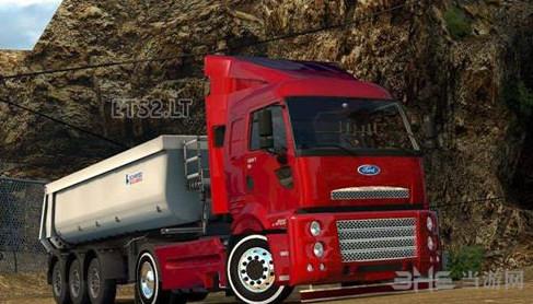 欧洲卡车模拟2福特Cargo车头MOD截图0