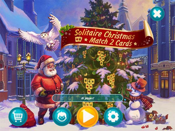 纸牌圣诞:消除纸牌截图0