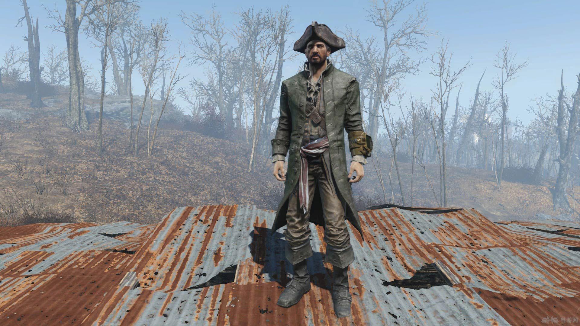 辐射4海盗之王服装MOD截图1