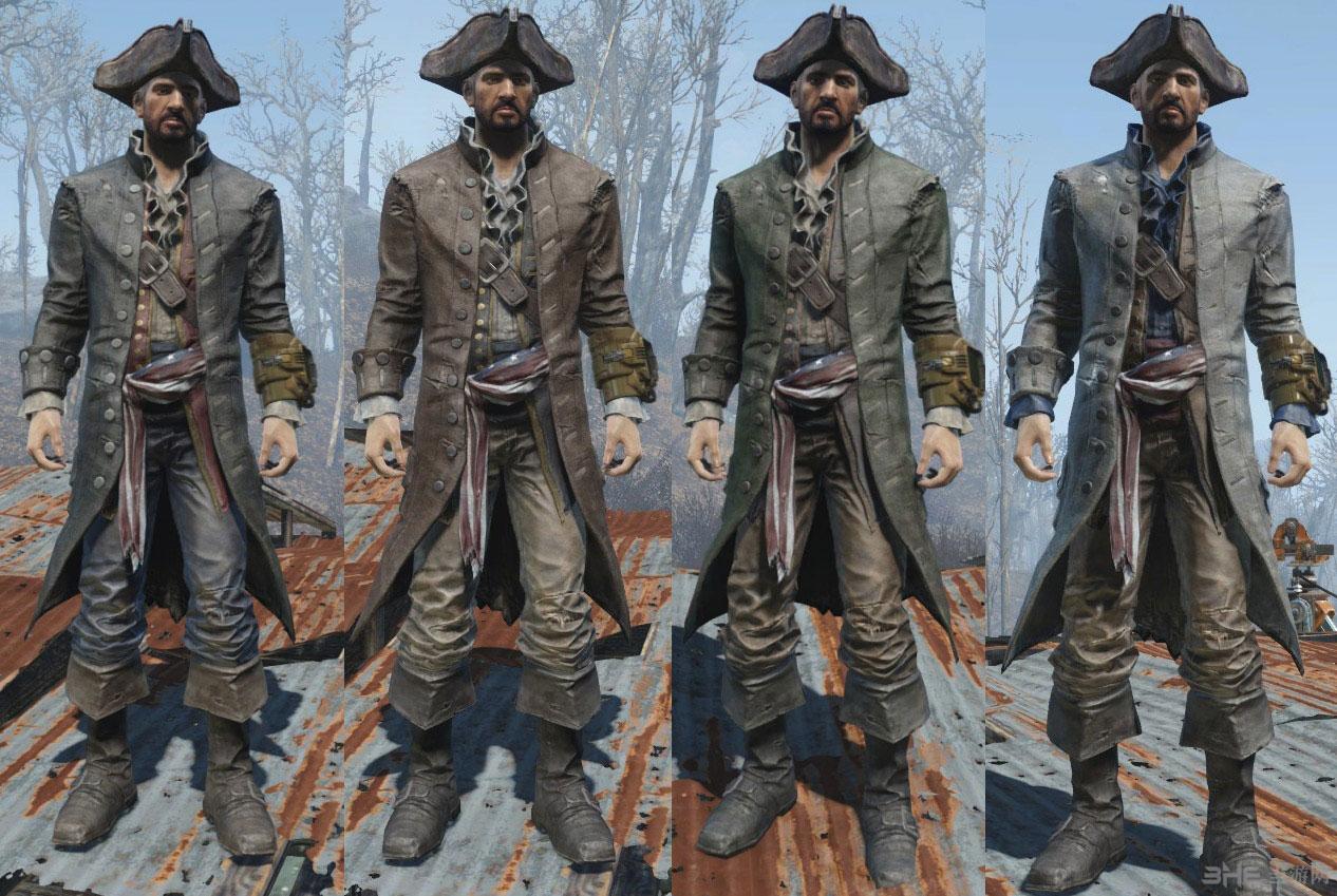 辐射4海盗之王服装MOD截图2