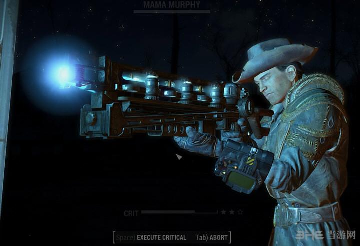 辐射4高斯步枪弹道特效改MOD截图0