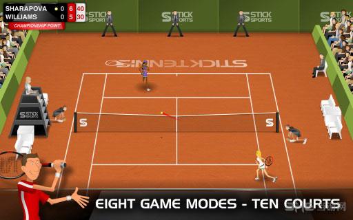 火柴人网球电脑版截图2