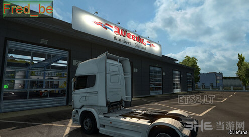 欧洲卡车模拟2 Weeda大车库MOD截图1