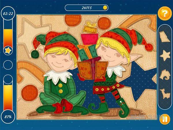 圣诞镶嵌拼图截图1