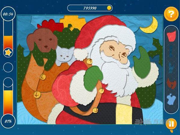 圣诞镶嵌拼图截图2