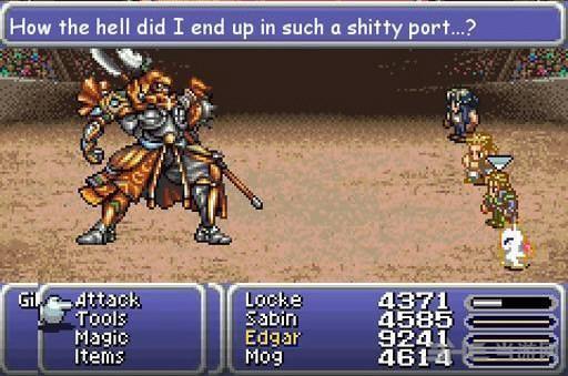 最终幻想6单独破解补丁截图0