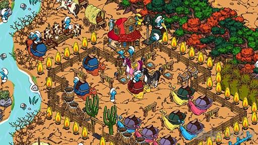 蓝精灵村庄电脑版截图3