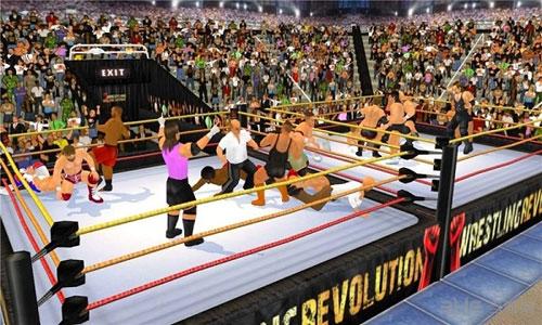 摔跤革命3D电脑版截图2