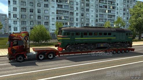 欧洲卡车模拟2 70吨转向修复MOD截图0