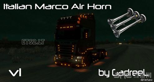 欧洲卡车模拟2意大利马克气喇叭MOD截图0