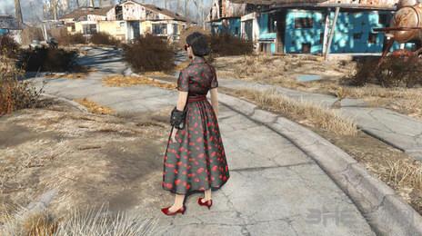 辐射4贵妇连衣裙MOD截图0
