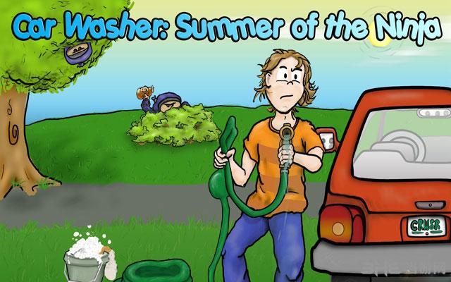 洗车工:忍者的夏天截图0