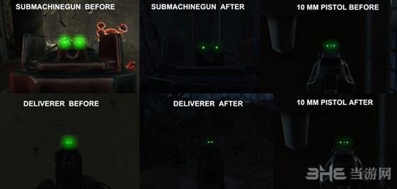 辐射4武器夜视瞄准点缩小mod截图0