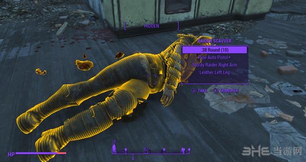 辐射4高亮的可检尸体MOD截图0