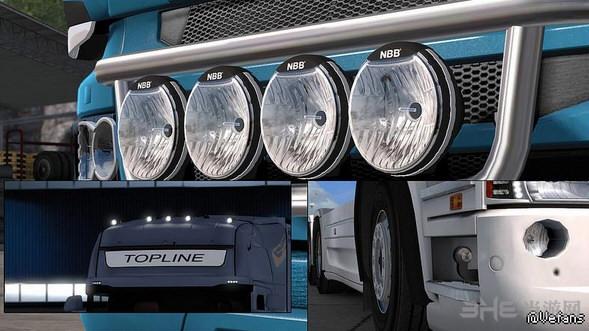 欧洲卡车模拟2 HELLA海拉车灯MOD截图0