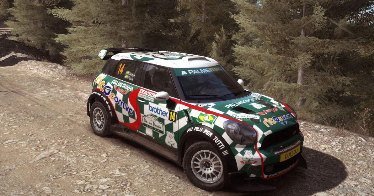 ����������MINI WRC P.Nobre 2012��ͿװMOD��ͼ0