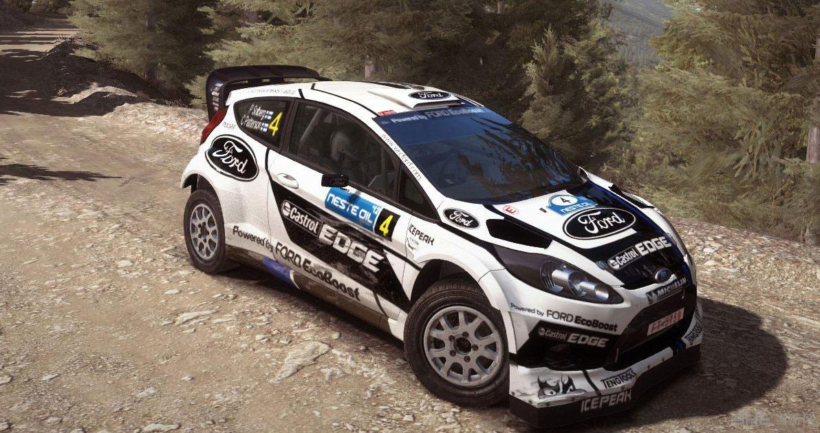 ����������2012 Rally Finland����ͿװMOD��ͼ0