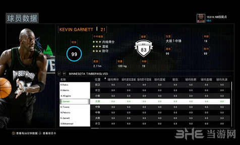 NBA 2K16 MC存档KG凯文加内特截图0