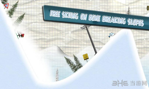 火柴人滑雪赛电脑版截图1