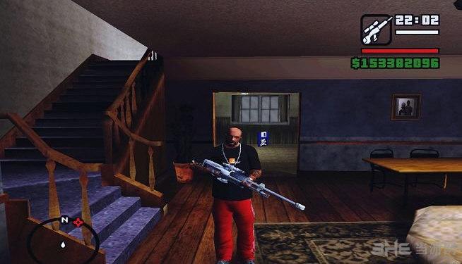 侠盗猎车手圣安地列斯仿光晕狙击枪MOD截图1