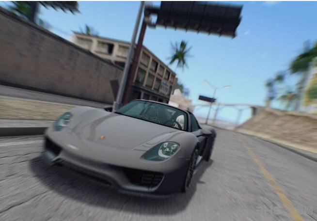 侠盗猎车手圣安地列斯保时捷918 Spyder超级跑车MOD截图2