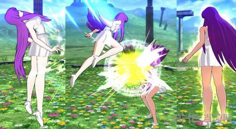 圣斗士星矢:斗士之魂雅典娜齐哔连衣裙MOD截图0