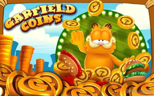 加菲猫推金币金币版截图0