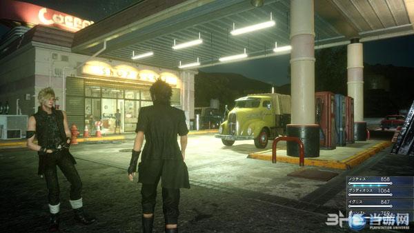 最终幻想15Demo版游戏截图4