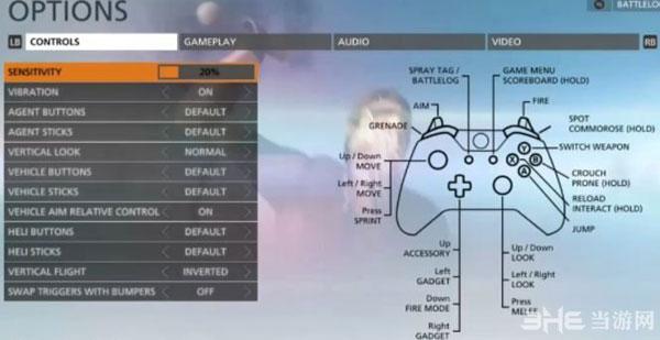 战地硬仗beta操作说明 xbox手柄键位设置翻译