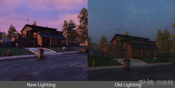 《H1Z1》公布新旧光影效果对比截图2