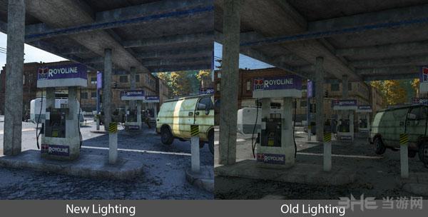 《H1Z1》公布新旧光影效果对比截图1