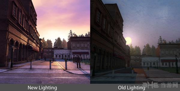 《H1Z1》公布新旧光影效果对比截图3