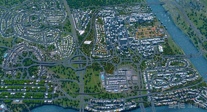 城市:天际线解除区域数量限制+免费解锁全部区域MOD截图0