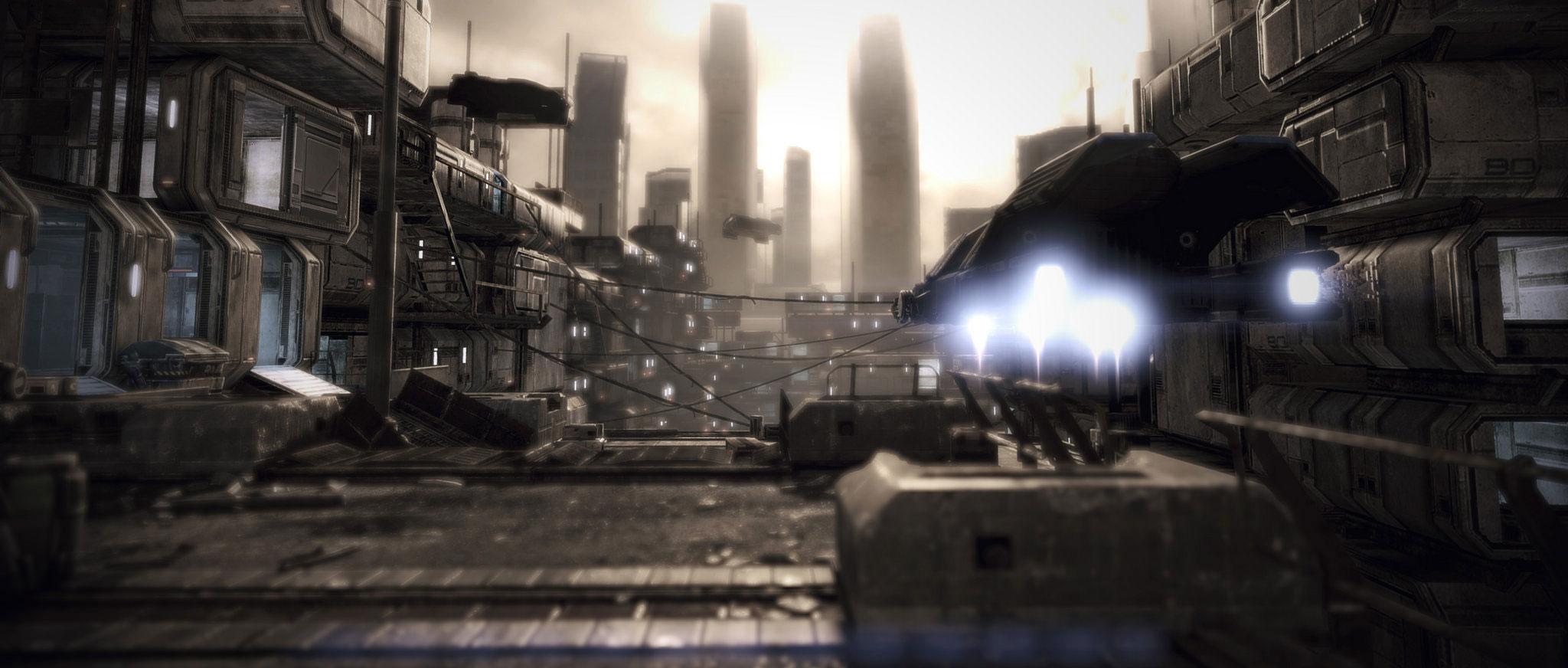 《质量效应3》4K分辨率截图第一弹 完全不
