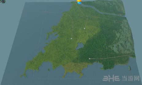城市:天际线青岛地图mod
