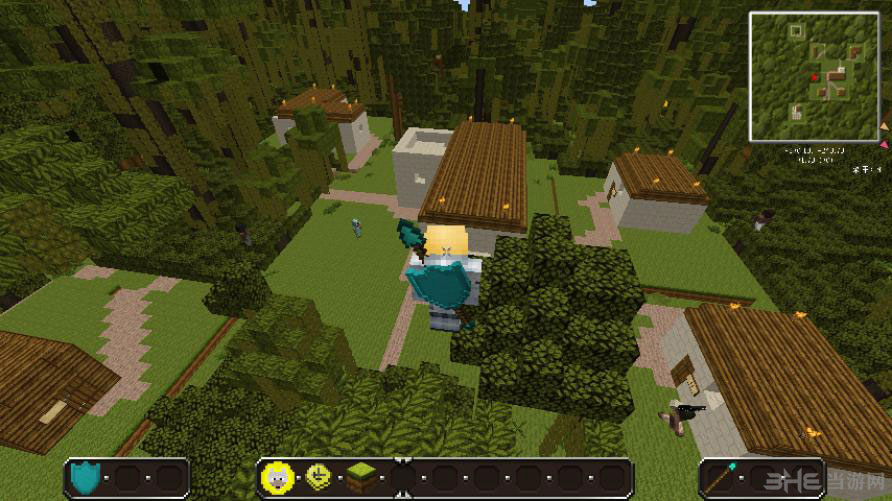 我的世界1.6.2甘蔗的村庄整合包截图9