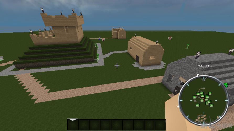 我的世界1.7.2 jsly村庄 冒险懒人包图片